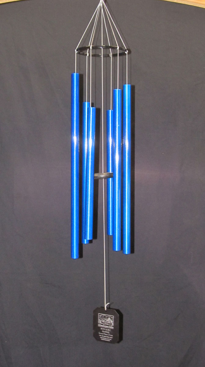 3SBL :: Small Himalayan Echo Blue Wind Chimes