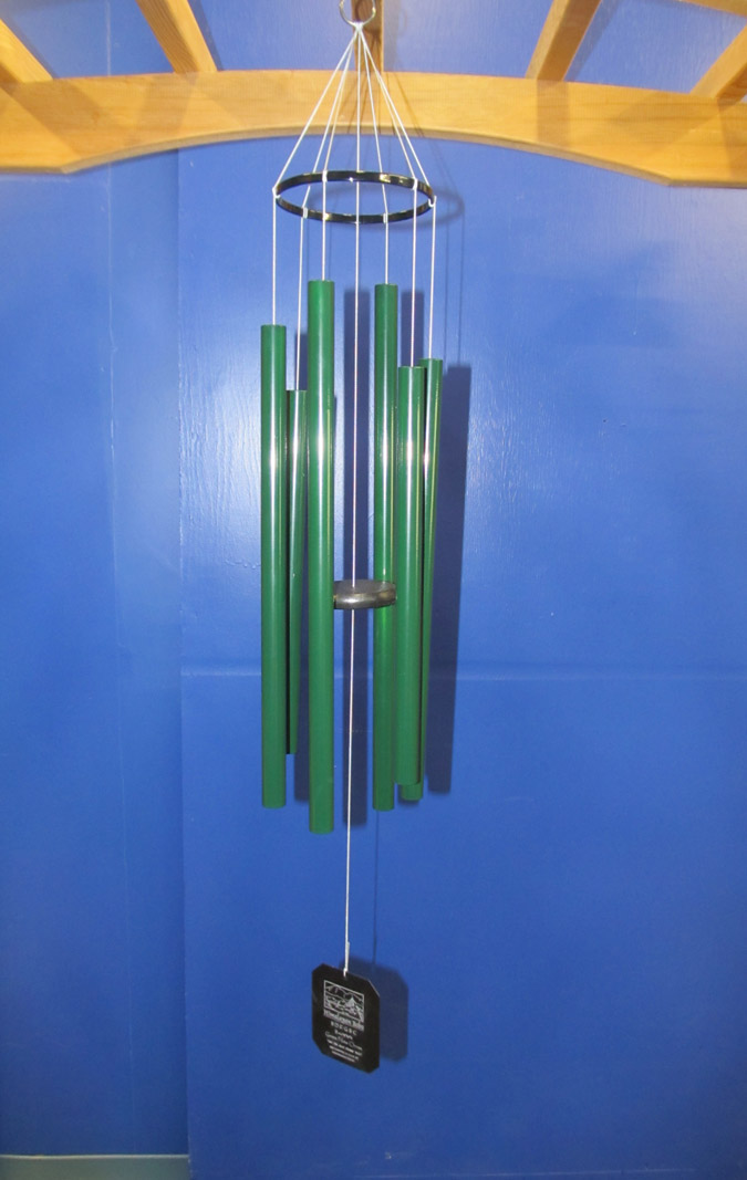 3SG :: Small Himalayan Echo Green Wind Chimes
